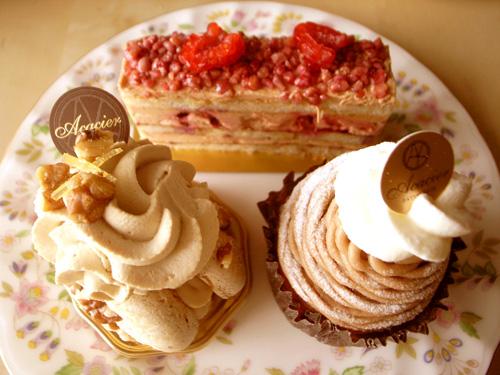 【ケーキ】アカシエ_140706