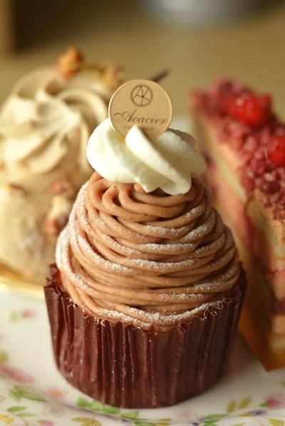 【ケーキ】アカシエ「モンブラン」 (1)