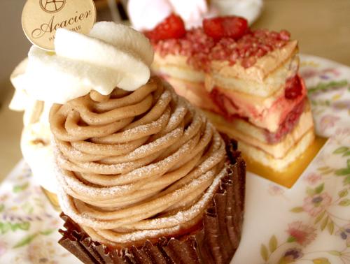 【ケーキ】アカシエ「モンブラン」 (5)
