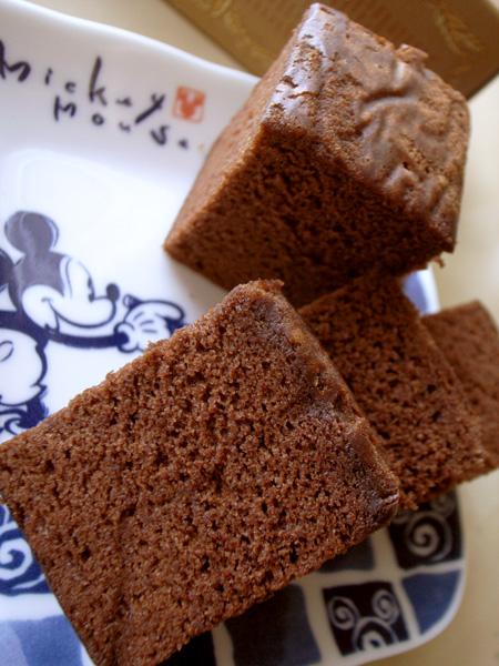 【和菓子】清風堂「チョコレートカステラ」 (5)