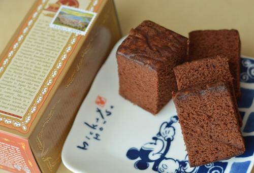 【和菓子】清風堂「チョコレートカステラ」