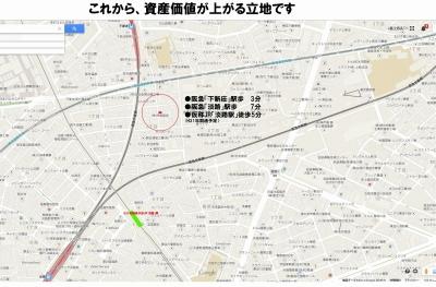 下新庄MAP