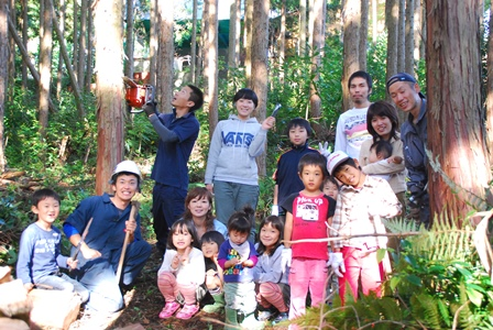 森のたね 富士山田舎暮らし 森づくり