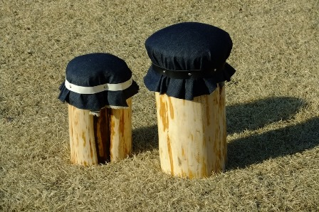 森のたね 富士山間伐材 マッシュルームチェアづくり