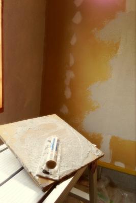 珪藻土塗り
