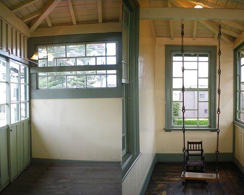 旧東奥義塾外人教師館・2Fサンルーム