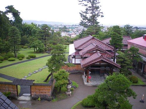 旧藤田謙一別邸・展望室の眺め
