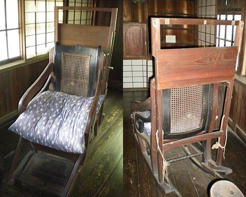 成瀬仁蔵邸・家具3