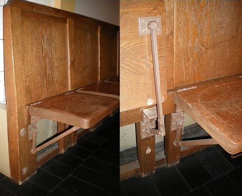 大阪市中央公会堂・旧椅子