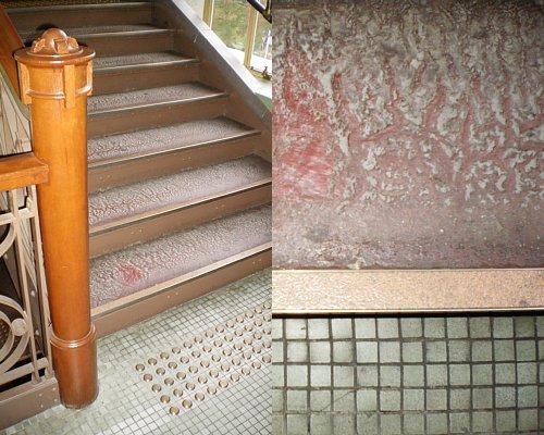 大阪市中央公会堂・階段2