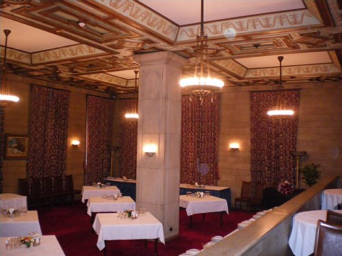 綿業会館・本館会員食堂