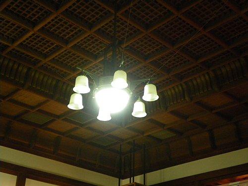 金光教玉水教会・天井