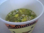 エースコック「スープはるさめ バリィさんの鶏たま柚子塩味やけん」