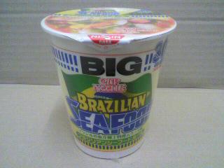 日清食品「カップヌードル ブラジリアンシーフードヌードル ビッグ」