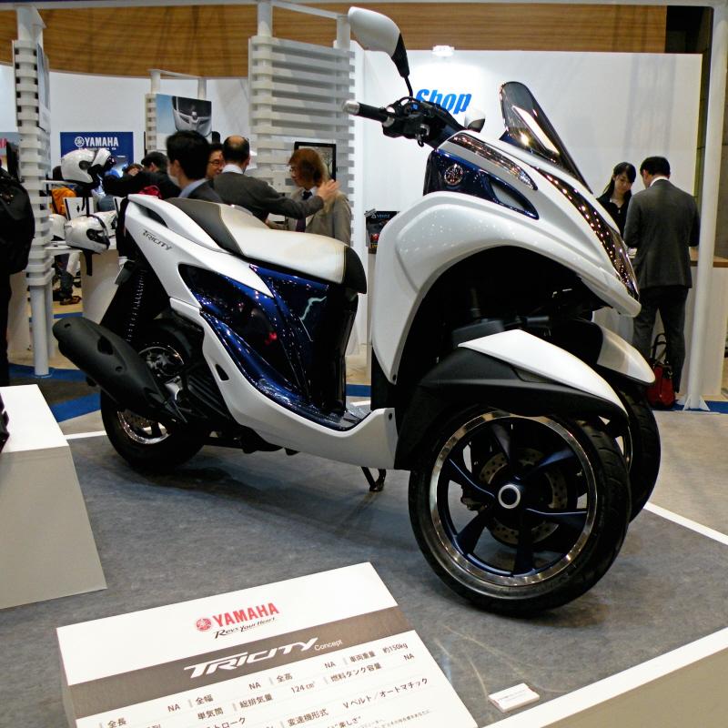 東京モーターサイクルショー2014yamaha7