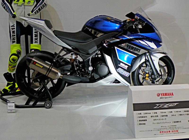 東京モーターサイクルショー2014yamaha14