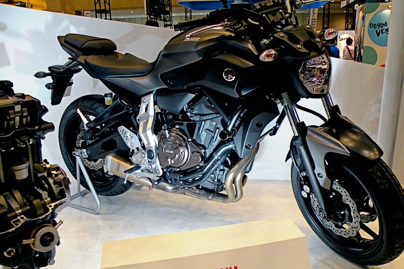 東京モーターサイクルショー2014yamaha3