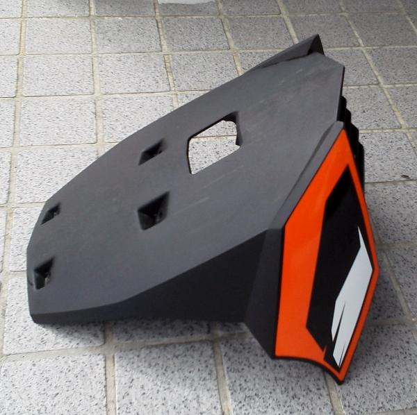 200dukeエンジンオイル交換 (600x598)