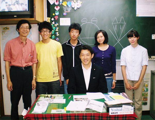 05 600 20090913 ★風間直樹先生訪問inSCstaff特訓