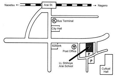 LLシホヤ地図English