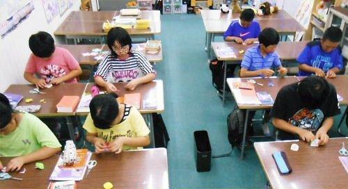 03 500 20140619 PD 英語で折り紙:朝顔for七夕
