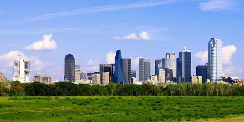 10 500 Dallas cityscape