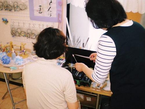 600 20110607 とんぼ玉体験:KT様by礼子02