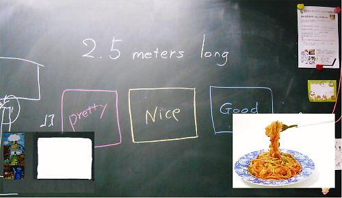 04 500 20140817 #2えいごでコント練習:次回は3枚の絵を描くforBlankPicture