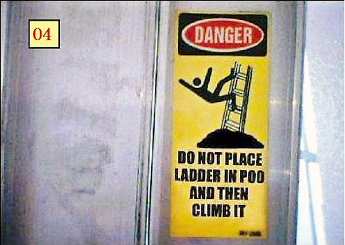 04 Danger Ladder tag