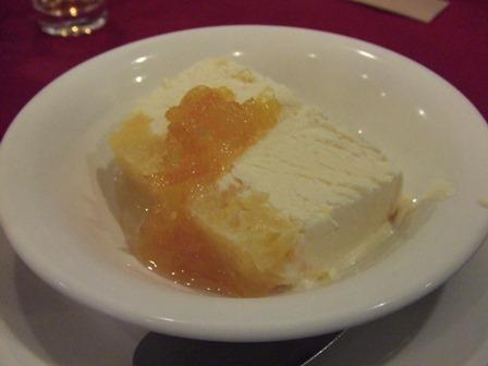伊予柑のチーズアイスクリーム