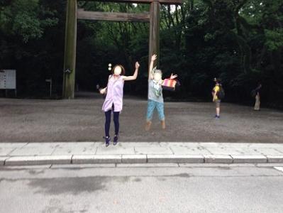 ジャンプ熱田神宮