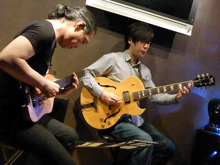 ギター村山義光氏、ギター馬場孝喜さん