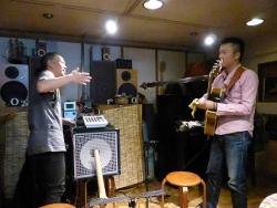 ギター村山義光氏ギター大野こうじさん