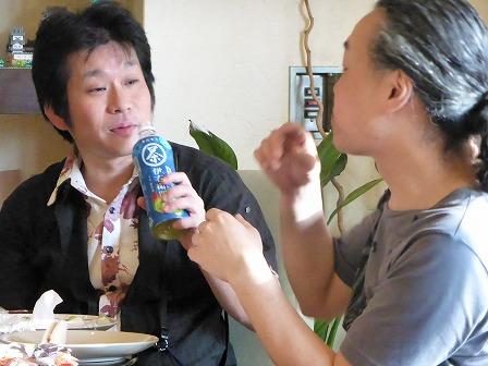テナーサックス里村 稔さん、ギター村山義光氏
