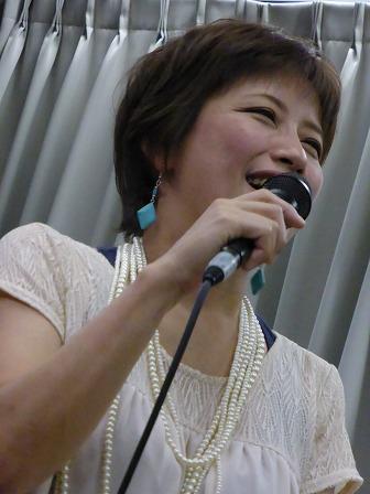 ボーカル小柳淳子さん