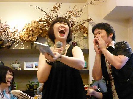 ボーカル山下みさこさん、 テナーサックス里村 稔さん
