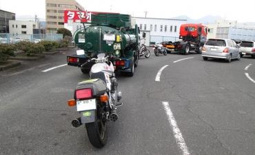 車検場(大型二輪車 検査場)継続検査 静岡県陸運局 運輸局 静岡運輸支局