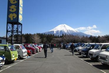 360ミーティング(360meeting)朝霧高原ドライブインもちや静岡県富士宮市猪之頭1217富士山