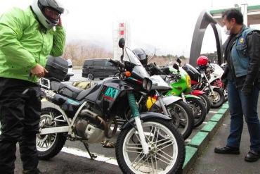 2014年KROG東海ミーティング朝霧高原ドライブインもちや二輪車会館 HONDA AX‐1