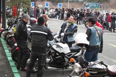 2014年KROG東海ミーティング朝霧高原ドライブインもちや二輪車会館 ヤマハR‐1Z スズキGT380