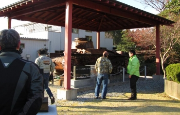 2014年 KROG東海ミーティング 富士宮 若獅子神社 九七式中戦車