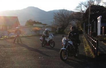 2014年KROG東海ミーティング 富士宮 若獅子神社 カワサキKR250 ホンダ AX-1 ヤマハ R‐1Z