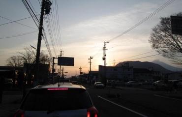 2014年KROG軽井沢強化合宿ミーティング 国道18号線 軽井沢駅前