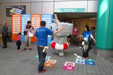 2014年 静岡ホビーショー 連装砲ちゃん!艦隊これくしょん ぜかまし 駆逐艦島風型 艦これ