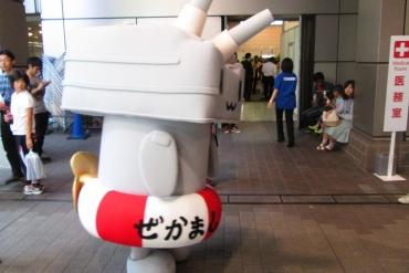 2014年 静岡ホビーショー 連装砲ちゃん!艦隊これくしょん ぜかまし 駆逐艦島風型 艦これ アオシマ文化教材社