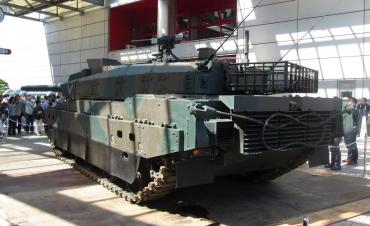 静岡ホビーショー 2014年 10式戦車 ツインメッセ静岡 東部方面隊 陸上自衛隊 駒門駐屯地 第1機甲教育隊