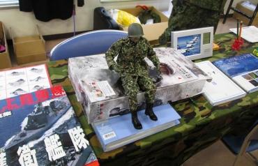 2014年 静岡ホビーショー ツインメッセ静岡 モデラーズフリマ  プラッツ自衛官フィギュア 自衛官募集