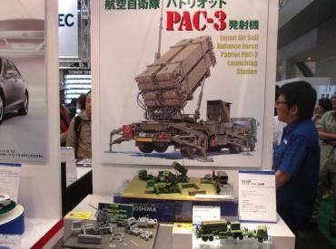 2014年 静岡ホビーショー 1/72 PAC-3 航空自衛隊 パトリオット迎撃ミサイル