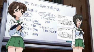 ガールズパンツァー OVA「これが本当のアンツィオ戦です!」 マジノ女学院