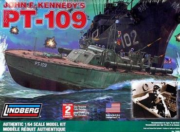 PT-109 JFK 1/64 Lindberg